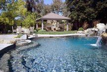 Swimming pool ideas / by Lorinda Moya