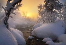 évszakok tél