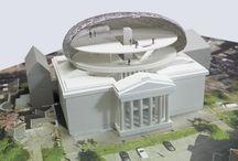 My work   Models   Final / Final architectural models made by TIVK (Tamara van Kampen)