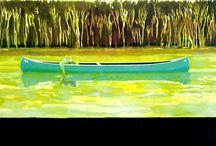 Peter Doig / Modern painter