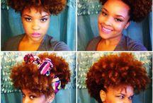 Afro & Natural Hair