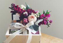 дополнения цветочные к подарку