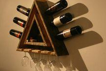 Вино и дерево • Wooden Wine Racks