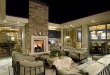 Outdoor areas and rooms