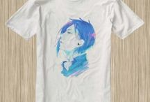 Black Butler Anime Tshirt / #BlackButler #Anime #Tshirt