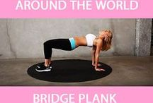 Core work outs .