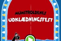 Moomin Costume Party interactive kids app