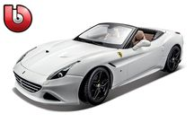 1/18 Ferrari Signature Series / Highly Detailed Die-Cast Replica in 1/18 Scale • Superior Paint Quality • Opening Doors • Opening Hood or Trunk (Most Styles) • Detailed Engine Compartments • Highly Detailed Wheels and Badging • Detailed Chassis with Separate Exhaust System • All Wheel Suspension • Full Function Steering • Detailed Interior • Unique Collector's Box