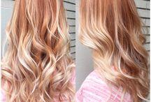 Ξανθοκόκκινα μαλλιά