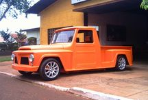 Pick-up F-75, Rural e Willys