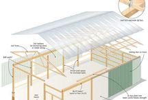 Pole barn / Pavillon
