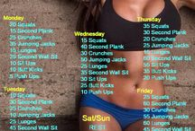 Workout / Whether it's six-pack abs or weight loss, these workout plans will help you reach your fitness goals! Can be done at home No equipment needed!    Don't Spam Please!