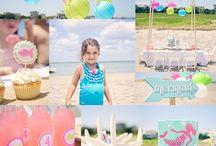 Beach Birthday parties