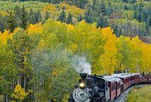 Buharlı trenler