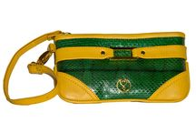 Seychelles / A collection inspired by the vibrant and bold colors found in the natural beauty that surrounds the breathtaking island of the Seychelles. This collection has an array of dazzling colors for your accessories and the more daring prints and colors are for our unique clutches and shoulder bags.