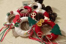 Handmade by Nora Tsaliki / Χειροποίητες προτάσεις για τα φετινά Χριστούγεννα...Στολίστε τον χώρο σας ή δωρίστε τα στα αγαπημένα σας πρόσωπα!