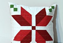 Mini quilts/pillows