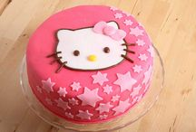 hello kitty party and caces