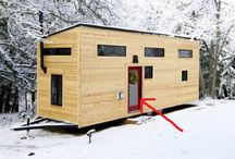 Tiny houses / Clearly I'm still not over my play house.