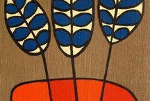 folk art inspired