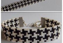 Armband / Pied de poule