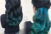 saç ucu renkleri