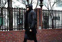ByTheR- Modern Classic Chic Black Street Men's Fashion / http://en.byther.kr/