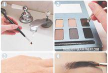 make up (+tricks, DIYs)