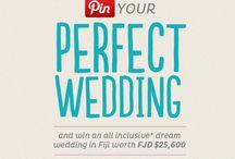 My dream wedding / my dream wedding on the beautiful islands of Fiji...