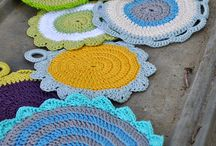 Crochet house items