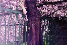 @Couturenotebook Loves Purple / Purple evening gowns and evening dresses