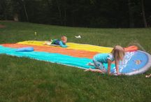 Backyard Activities / Beat Summer Boredom with these great backyard activities!
