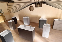 TOUCH Collection / A collection for those who appreciate authentic matters worked with new technologies. Restored wood, natural wood, eco-mortars create an atmosphere that surrounds, seduces and emotionally involves; lacquered finishes highlight essential lines and emphasize minimalism, not neglecting functionality.