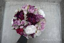 Umělé svatební květiny