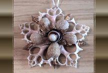 Sea Shell Art / Handmade with seashells