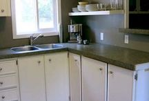 Single kitchens single family life / Inspiration for new kitchen