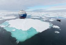 m/v Plancius / The ice-strengthened vessel Plancius is an excellent vessel for polar expedition cruises in the Arctic and Antarctica.