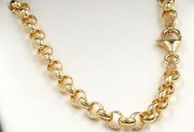 Medium Gold Chains / Choose from 50 Styles Solid 9ct Gold Chains of all styles between 4mm and 8.9mm in width. Made to any length in yellow, rose or white gold. Product codes HM-xxxx can be made in any combination of colours https://www.chain-me-up.com.au/9ct-solid-gold-chains-necklaces-bracelets.asp