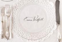 table settings / by Kelli Campbell