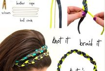 Diy hair accessories/Broochs
