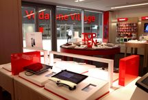 Vodafone Store / Custom-tailored furniture for Vodafone Store - Vodafone Village, Milan