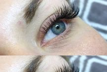 EYELASH EXTENSIONS / At Eve Beauty, we offer professional eyelash extension services that lengthen and thicken your own natural lashes. Our lash extensions are single strands of synthetic eyelashes that are curved to replicate a natural eyelash.