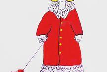 Mijn Illustraties en anderen kinderboeken illustraties / Tekeningen van Ineke Bekker-Merk voor kinderkaarten en van  andere tekenaars, Kinderboeken illustrators.