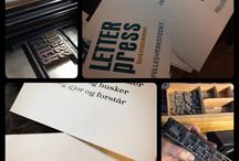 Bokstaven = meg og mine arbeider / Collection of work I have done. Calligraphy & bookbinding.