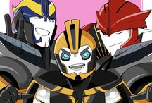 bumblebee, knockout and smokescreen