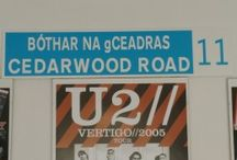 U2 - Street Sign / U2 Street signs, Dublin