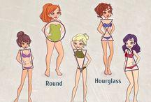 Clothes charts