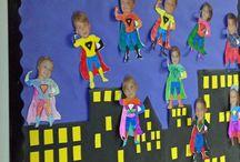 Förskola superhjälte