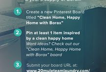 """Clean Home, Happy Home with Borax"" / ""Clean Home, Happy Home with Borax"" / by Carolyn Barnett"