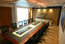 BOARDROOM & MEETING ROOM FURNITURE / The boardroom table should form the centerpiece in office environment.